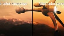 Color correction and lighting controls